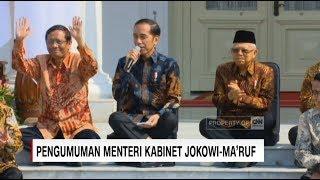 Sah! Presiden Jokowi Umumkan Menteri Baru Kabinet Indonesia Maju