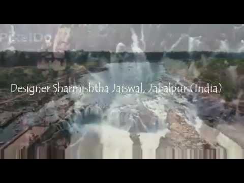 Khadi saree by fashion designer Sharmishtha jaiswal jabalpur. Khadi india gramudhyog