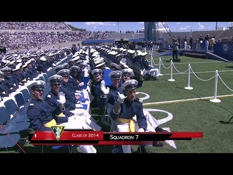 2014 U.S. Air Force Academy Graduation. Part 2 of 2