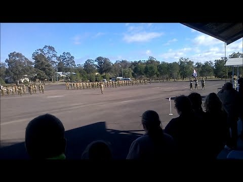 2/2014 NSW AAC BDE Course March Out