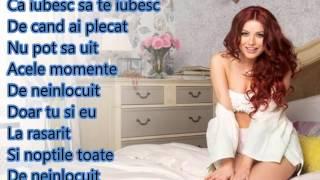 Elena Gheorghe - De neinlocuit (Lyrics/Versuri)