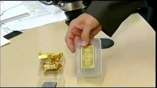 Counterfeit gold bars discovered in New York City