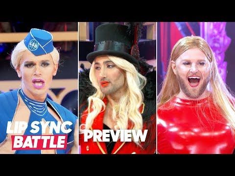 Fred And Angi - Queer Eye Stars Channel Their Inner Britney Spears On Lip Sync Battle
