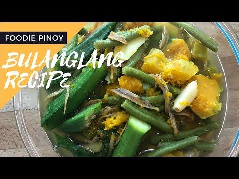 Simple Bulanglang Recipe | Filipino Recipe | Foodie Pinoy