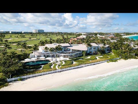 Villa Tarka | Beachfront Estate | Paradise Island, Bahamas | Damianos Sotheby's International Realty
