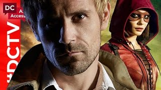 Constantine Joins Team Arrow + Doctor Light Shines on The Flash