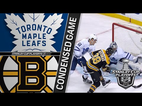 04/12/18 First Round, Gm1: Maple Leafs @ Bruins