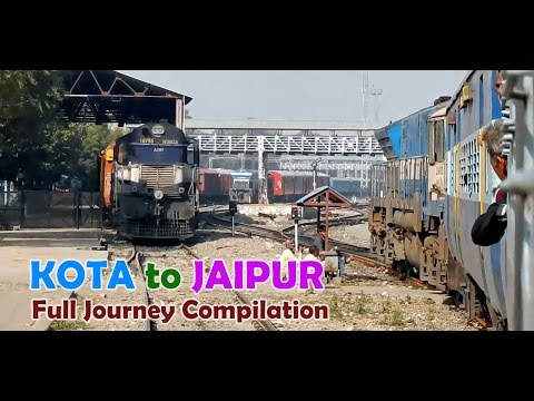 KOTA to JAIPUR : Delightful Train Journey on a Chilly Winter