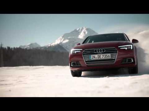 Audi driving experience St. Moritz