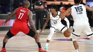 ROCKETS vs GRIZZLIES HIGHLIGHTS   NBA Scrimmage 7/26/2020 - HARDEN vs MORANT (NBA RECAP)