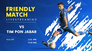 Training Match PERSIB vs Pra PON Jabar