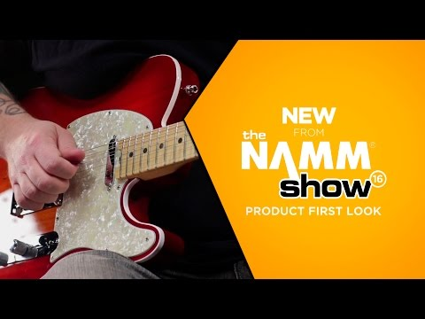 NAMM 2016 - Fender American Elite Telecaster Electric Guitar