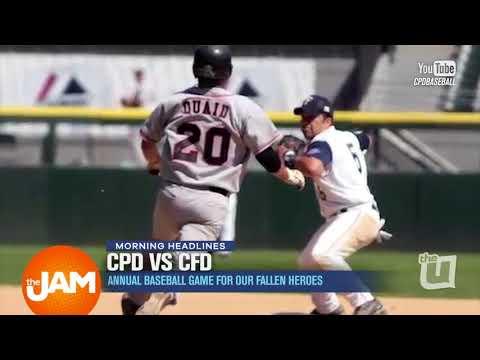 CPD Vs. CFD Baseball Game