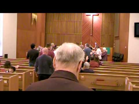 November 13, 2011 - The Blessing of Pastor Ty Sweeting as he leaves MCC Topeka