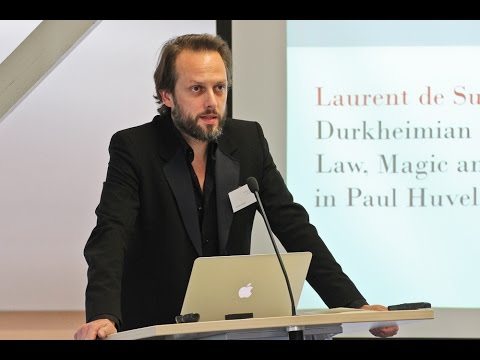 LAURENT DE SUTTER: Durkheimian Mysteries: Law, Magic and the Sacred in Paul Huvelin and Marcel Mauss