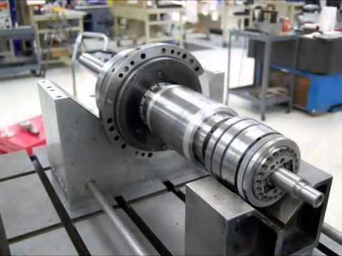Mori Seiki NH4000DCG Spindle Repair -  High Speed Technologies