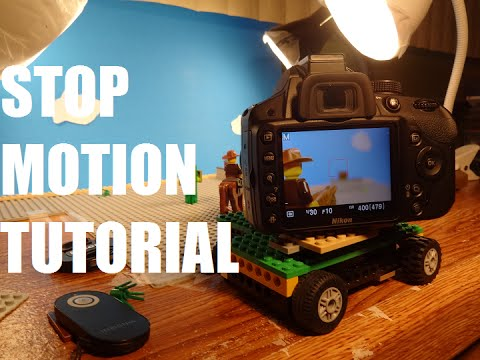 Guide to Lego Stop Motion