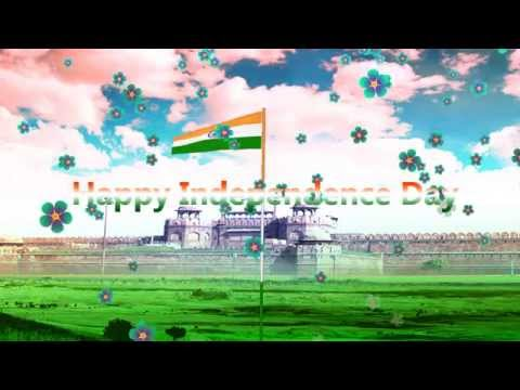 Happy Independence Day HD Background Video Free Downloads