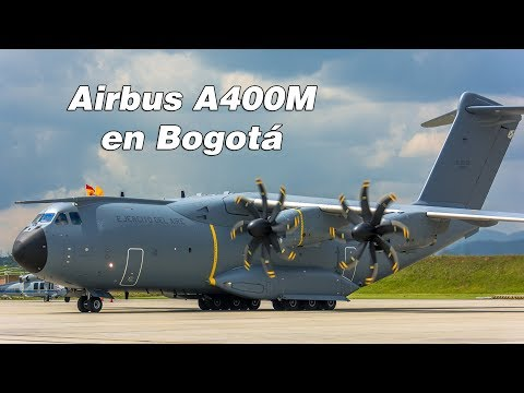 Airbus A400M visita a Colombia (Bogotá - CATAM)