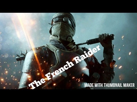 The French Raider - Battlefield 1