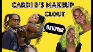 Offset - Clout ft. Cardi B Makeup Tutorial- Beginner Friendly