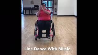 Wheelchair Line Dance With Jane at Cha Cha Chairs