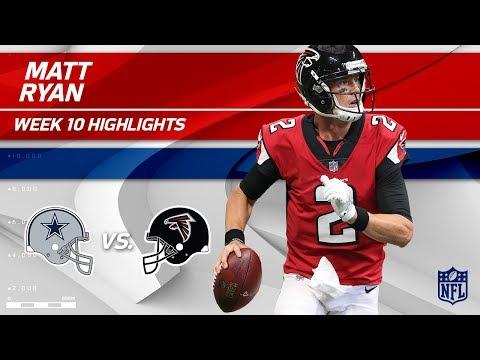 Matt Ryan Leads His Team to Victory w/ 2 TDs vs. Dallas!   Cowboys vs. Falcons   Wk 10 Player HLs