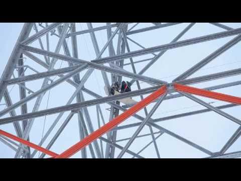 conferdo steel lattice tower for wind turbine hh 141m