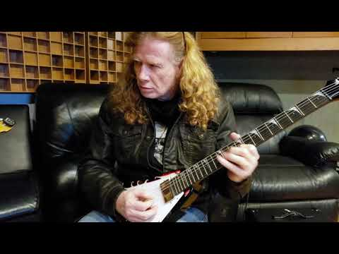 Dave Mustaine VIP Meet & Greet + Guitar Lesson Packages... Hurry!
