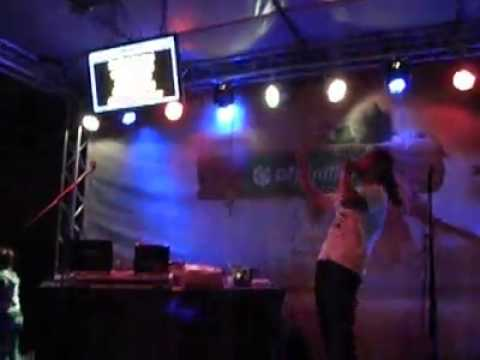 She's a Lady - Tom Jones cover on exit 2014 karaoke OTP stage