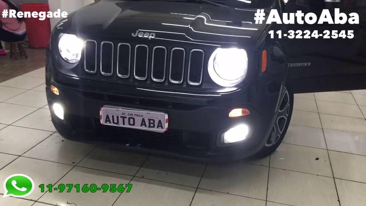 Kit Lâmpadas Super Led Jeep Renegade - AutoAba Acessórios ...