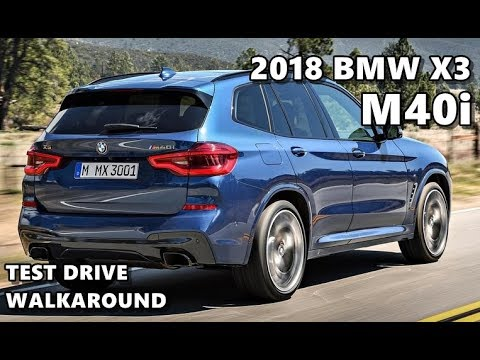2018 bmw x3 m40i m sport youtube. Black Bedroom Furniture Sets. Home Design Ideas