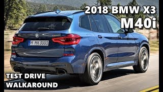 2018 BMW X3 M40i (M Sport)