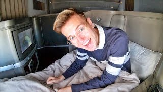 CATHAY PACIFIC FIRST CLASS | The World's Best First Class Bed? 777-300ER Vancouver to Hong Kong!