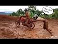 Kumpulan Video Lucu Gagal Jumping Saat Mengendarai Motor Trail