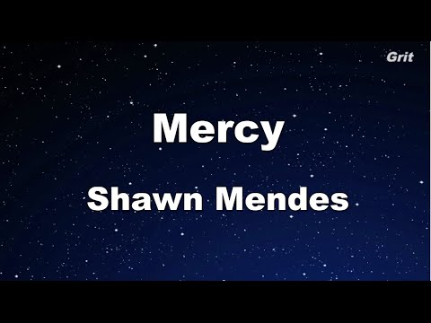 Mercy - Shawn Mendes Karaoke 【With Guide Melody】 Instrumental
