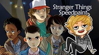 Stranger Things Speedpaint