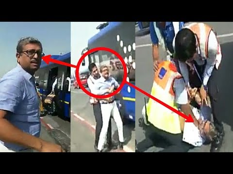 Watch: IndiGo staff manhandle passenger at  Indra Gandhi International Airport (New Delhi)