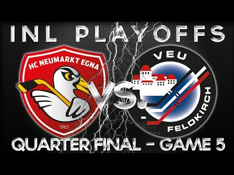 HC Neumarkt Egna - VEU Feldkirch | Live-Stream [INL-Playoffs] [Viertelfinale - Game 5] - 12.03.2014