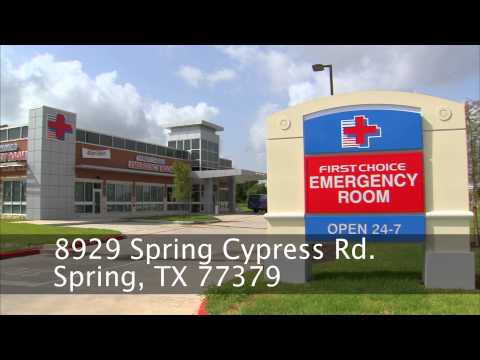 First Choice Emergency Room - Spring Gleannloch