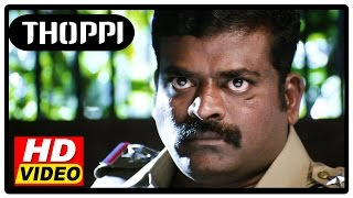 Thoppi Tamil Movie | Scenes | G.N.Kumar threatens the Police officers | Murali Ram