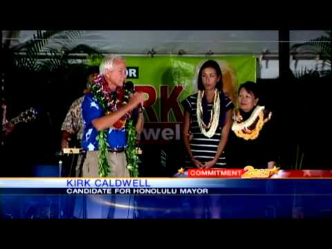 Candidates prepare to launch the run-off race for Honolulu Mayor