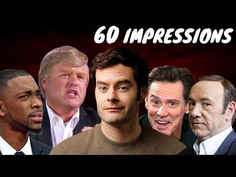 60 Hilarious Impressions under 20 Minutes
