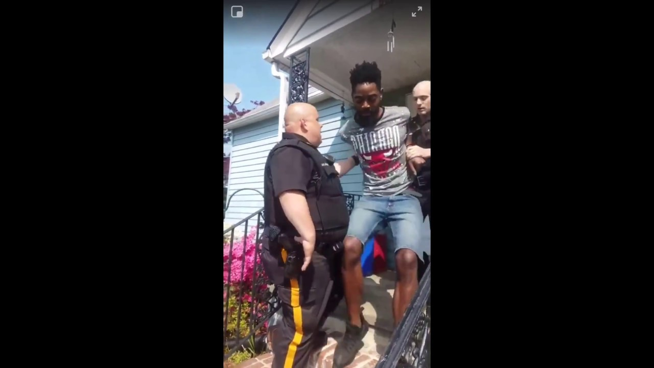 Which Dog Did They Really Arrest This Black Man For The One With Four Legs or The One With Two?