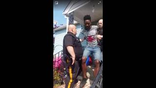 Who let the dogs out? Violent arrest after neighbor dispute