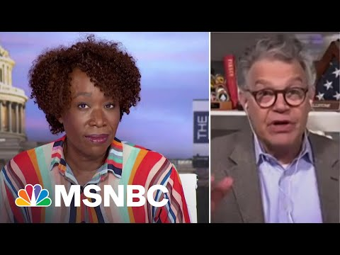 Al Franken On Voting Rights Bill: 'It'd Be Mitch McConnell Who Ended Our Democracy'