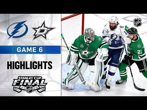 NHL Highlights | Stanley Cup Final, Gm6 Lightning @ Stars - Sept. 28, 2020
