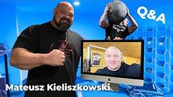 FUTURE WORLD'S STRONGEST MAN? | Q&A WITH MATEUSZ KIELISZKOWSKI