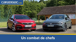 Comparatif - Peugeot 308 VS Volkswagen Golf