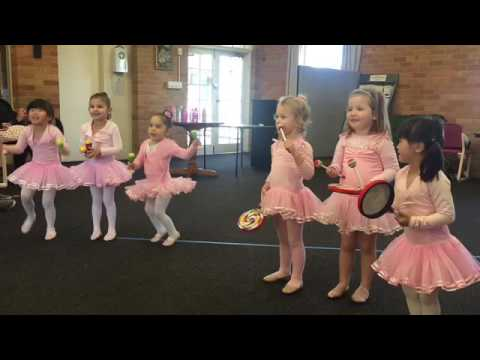 Carla + Chelsea's Ballet Recital